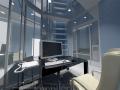 3д визуализация кабинет офис