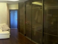 дизайн интерьера спальня шкаф купе