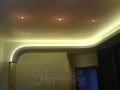 дизайн интерьера потолок с подсветкой