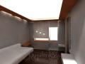 3д визуализация гостиная