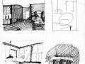 эскизы дизайн интерьера