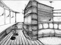 гостиная объединенная с балконом