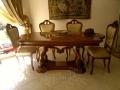 дизайн интерьера столовая стол