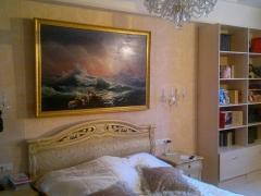 оформление спальни классика
