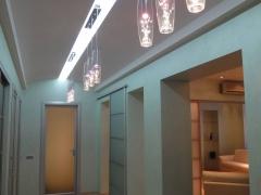 дизайн квартиры прихожая потолок