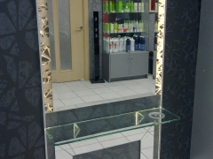 зеркало салон красоты