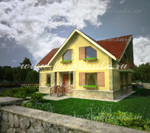 3d visualization of the house