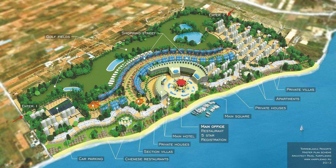 Project for investments in Spain – Torreblanca resorts