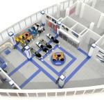 3д модель помещения