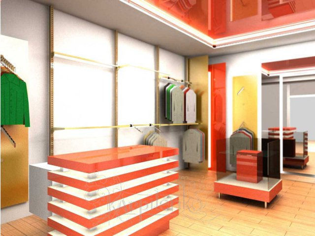 3d visualization of retail equipment