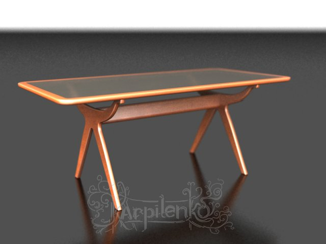 3d visualization of table