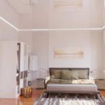 3D-Visualisierung des Schlafzimmer-Minimalismus - 3D-Visualisierung bestellen (Video)