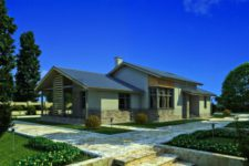 3d visualization of house
